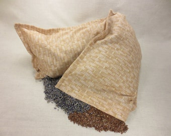 Handcrafted Flax Seed & Lavender Neck Pillow