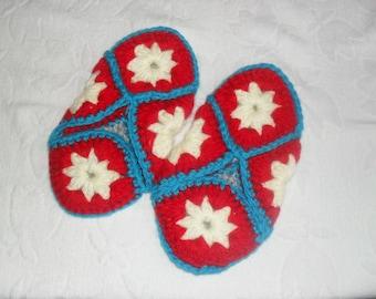 crochet Slippers for women