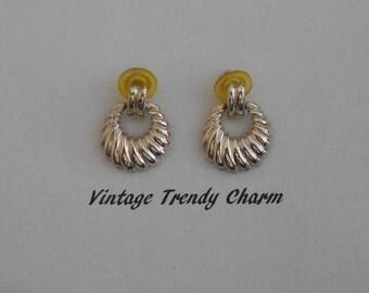 Vintage Napier ~ Stunning Vintage Napier Dangle Earrings