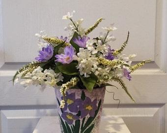 Ceramic Flower Pot Arrangement