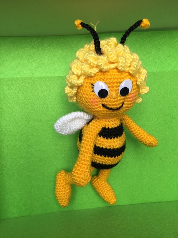 Amigurumi Basic Doll Pattern : Maya the Bee Amigurumi Crochet Pattern from ...