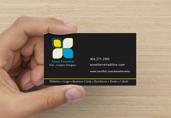 Items similar to Bilingual business card Front in English