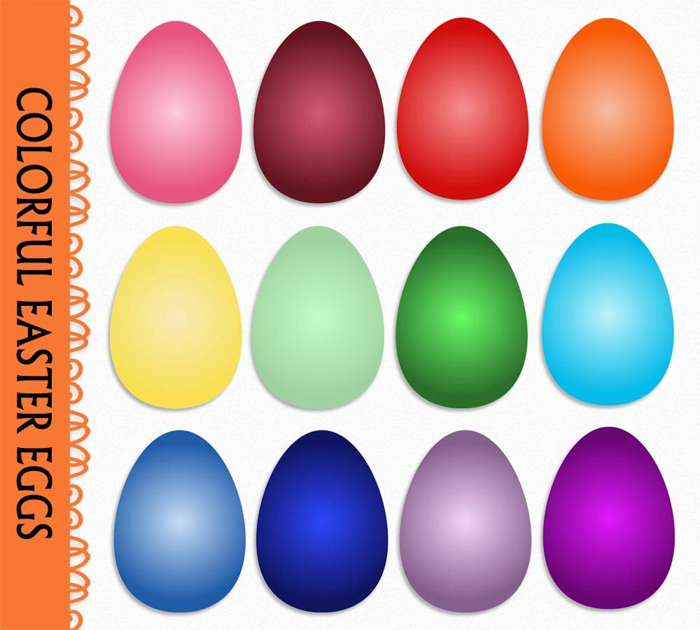 easter eggs clip art graphic colorful easter egg clipart
