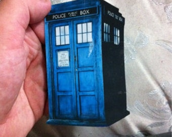 Doctor Who: The TARDIS Magnet (Time & Relative Distance!)