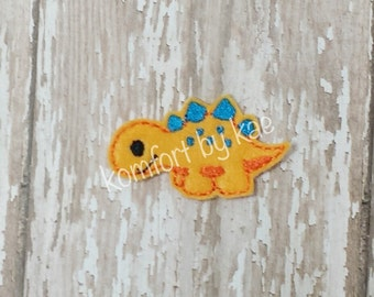 Stegosaurus Dinosaur LSS Felties- (set of 4) UN-CUT