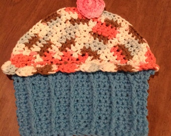 Cupcake Washcloth
