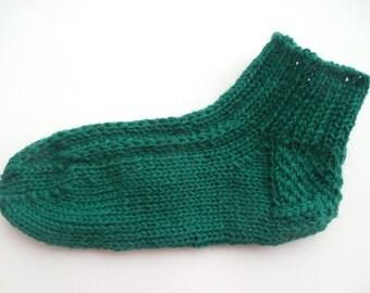 Elegant Green Socks