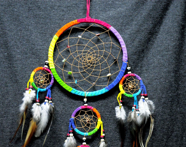 Dream Catcher dreamcatcher rainbow color home decroration ...