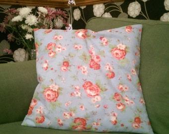 Cushion - Handmade in Cath Kidston Rosali Print - Blue