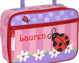 Personalised Children's Lunch Boxes - Ladybird