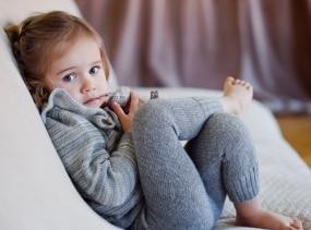 Alpaca wool leggings / gray baby pants / kids warm baby alpaca leggings
