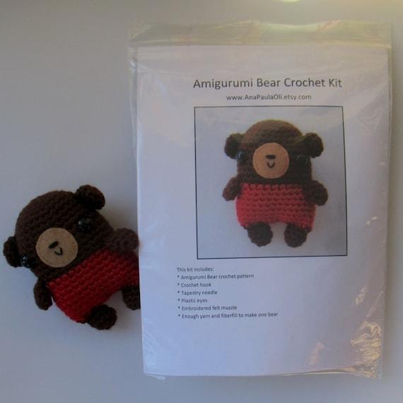 Amigurumi Animal Kit : Nounours amigurumi Crochet Kit
