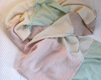 Luxurious Pastel Cashmere Wrap THE GODESS In YOU
