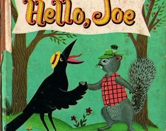 Hello, Joe a Whitman Tell-a-Tale Book - Ruth Stempel - Barbara Corrigan - 1961 - Vintage Kids Book