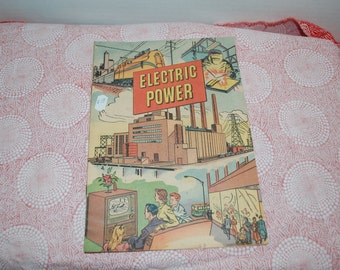 Vintage Electric Power Pamphlet 1952