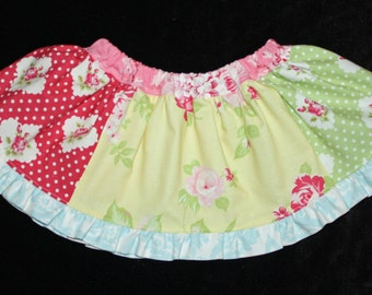 Baby Darla Rose Skirt 6/12m