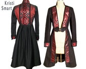Evil Queen Pirate Princes cosplay circus coat