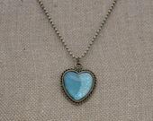 Frozen Heart Nail Polish Necklace