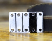 Grill Steel Belt Buckle by Fosterweld