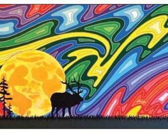 I Have the Moon Original Artwork Magnet
