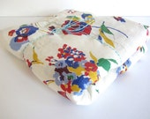 Vintage Fabric  Cotton or  Cotton Blend - 1950s or before