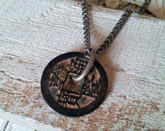 Traveler's Charm Mens Necklace