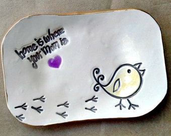 For MOM Trinket  Dish Mothers Day