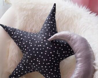 Metallic Star Pillow - Stardust