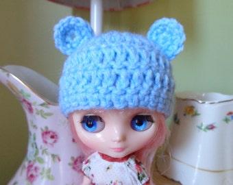 LIGHT BLUE bear ears for MIDDIE
