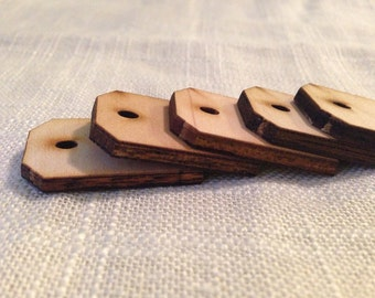 Wooden Tags or Beads