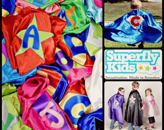 Customized / Personalized Kids Superhero Cape: Made To Order