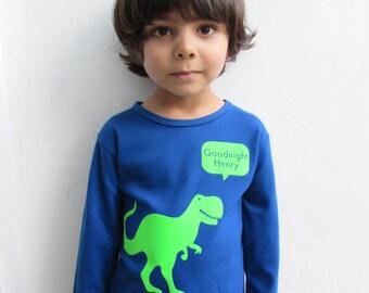 Personalised Dinosaur Pyjamas