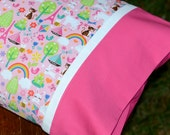 FAVORITE THINGS, Travel/Toddler Pillowcase, little girls bedding