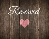 Reserved listing for Phyllis