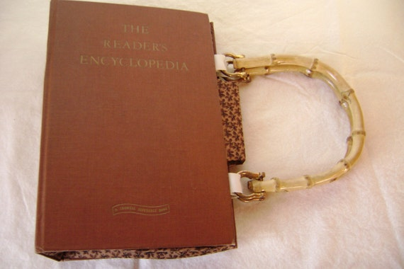 The Reader's Encyclopedia....Book Purse