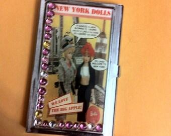 Barbie New York Dolls Business Card Holder Credit Card Case