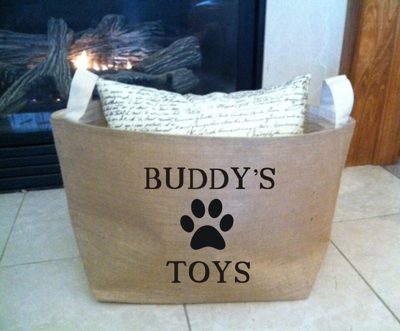 Large Dog Toy Storage
