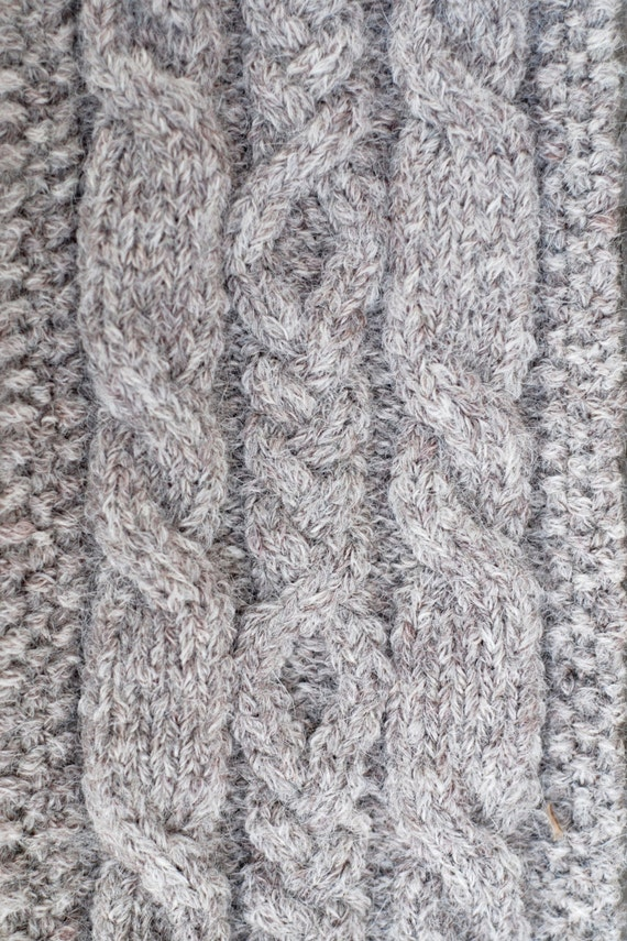 Hiawatha Pull-Through Cable Scarf - Knitting Pattern from ...