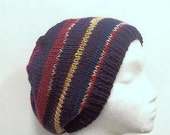 Knitted beanie hat multicolor  4745