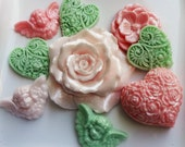 Guest Floral Soap Set Enchanted Garden