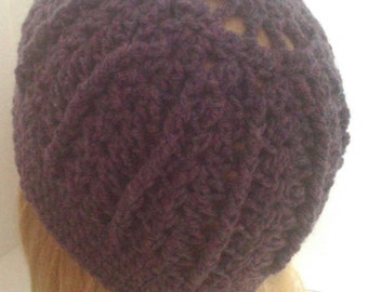 Purple Heather Cap