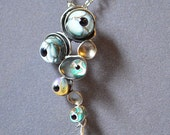 Tearfall Necklace Made With Glass Eyes