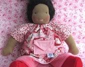 Waldorf doll, germandolls Loveletters set, handmade doll, soft toy, natural doll, German doll