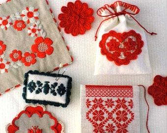Transylvania Folk Art Cute Embroidery - Japanese Craft Book