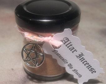 Altar Incense, Purify Altar, Frankincense Myrrh, Magical Herbs, Spell and Ritual Work, Magic Work Curio