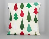 PRoGRESSIVE SALE Christmas Tree Forest Pillow Cover