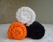 Halloween Town Cotton Dishcloth Set of 3