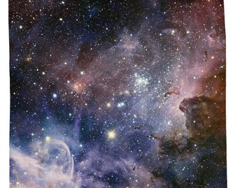 Nebula Shower Curtain, Carina Nebula - Printed in USA