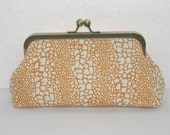 Bridal wedding clutch, bridesmaids clutches, custom purses, bridesmaids gifts, Gold White Leopard Print