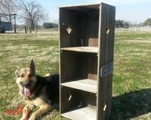 Bookcase. Farmhouse Shelf. Recycled Wood Furniture. Storage Shelf. Wooden Furnishings. Refurbished Furniture. Custom. Room Shelf. Bathroom